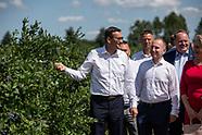 Premier Morawiecki spotkał się z podlaskimi rolnikami - 22.07.2021