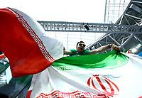 iran supporters celebrate victory<br /> Saint Petersburg 15-06-2018 Football FIFA World Cup Russia  2018 <br /> Morocco - Iran / Marocco - Iran <br /> Foto Matteo Ciambelli/Insidefoto