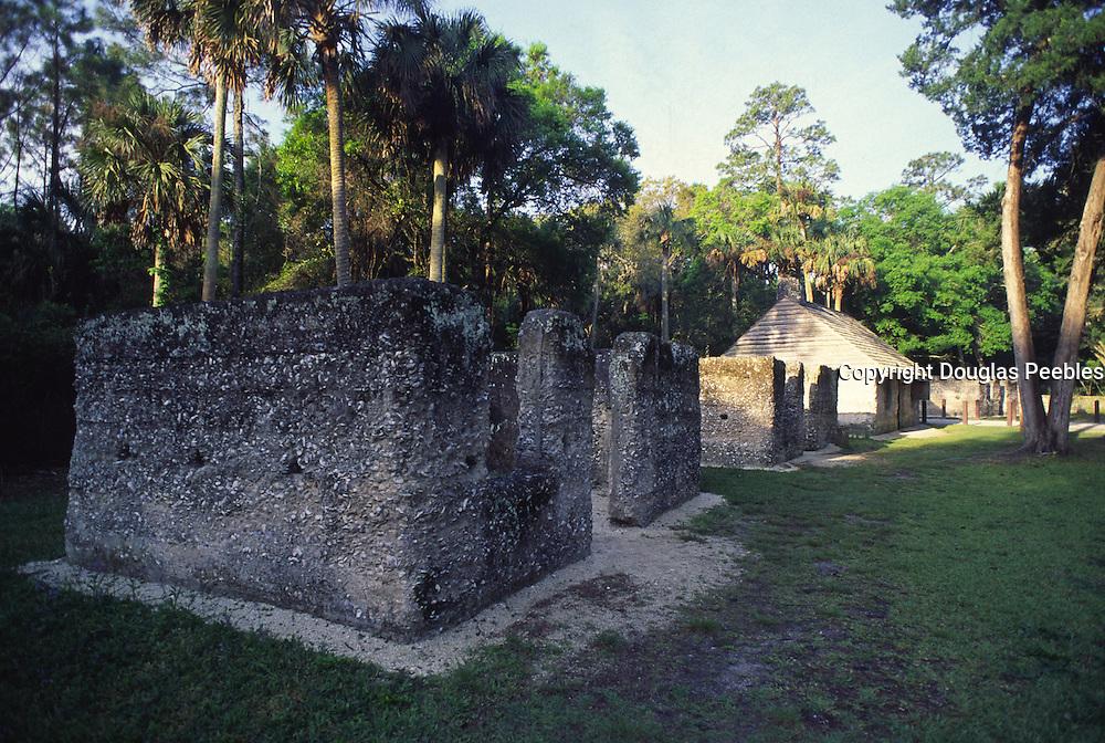 Slave quarters, Kingsley Plantation, Fort Gearge Island, Florida<br />