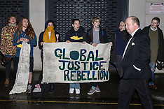2019-11-26 Protest at Mines and Money Awards