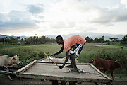 Contadino, Ethiopia 14 settembre 2014.  Christian Mantuano / OneShot
