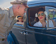 World War II re-enactors and air show held in Reading, PA.