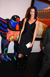 Model MARIE DONOHUE at the opening of the Opera Gallery in London, 134 New Bond Street, London W1 on 29th September 2005.<br /><br />NON EXCLUSIVE - WORLD RIGHTS