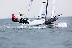 , Kiel - Kieler Woche 22. - 30.06.2013, Nacra 17 - ESP 16