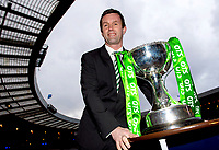 28/01/15<br /> HAMPDEN - GLASGOW <br /> Celtic Manager Ronny Deila looks ahead to his side's forthcoming Scottish League Cup Semi-Final clash against Old Firm rivals Rangers