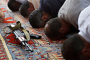 Sco0033837 .  Daily Telegraph..Friday prayers at the Masjed Jamal Abdel Nasser Mosque in central Tripoli, the first since the ousting of Gadaffi's regime by rebel forces...Tripoli 26 August 2011. ............Not Getty.Not Reuters.Not AP.Not Reuters.Not PA