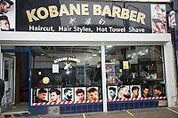 Kobane Barbers New Brighton Wallasey Merseyside 4th july 2020