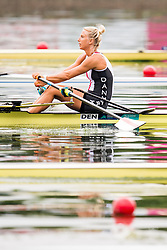 August 3, 2018 - Glasgow, UNITED KINGDOM - 180803 Mette Petersen of Denmark compete in the Women's Rowing Single Sculls repechage during the European Championships on August 3, 2018 in Glasgow..Photo: Jon Olav Nesvold / BILDBYRÃ…N / kod JE / 160281 (Credit Image: © Jon Olav Nesvold/Bildbyran via ZUMA Press)
