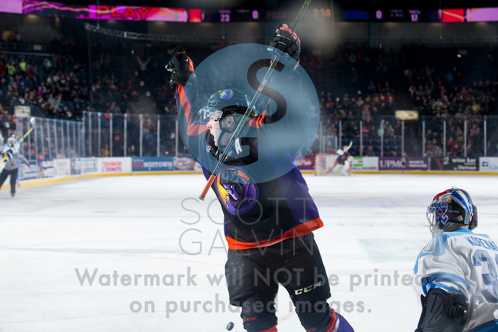 The Youngstown Phantoms defeat the Lincoln Stars 2-1 at the Covelli Centre on April 1, 2017.