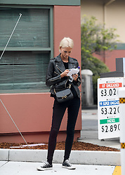 Poppy Delevingne arrives at studio for a meeting in Burbank, California. 21 Feb 2017 Pictured: Poppy Delevingne. Photo credit: MEGA TheMegaAgency.com +1 888 505 6342