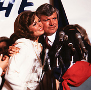 Phyllis George with husband and Kentucky governor elect John Y Brown on election eve in 1979. Phyllis Ann George was an American businesswoman, actress, and sportscaster. She was also Miss Texas 1970, Miss America 1971, and the First Lady of Kentucky from 1979 to 1983. Ms. George died, aged 70, of complications from Polycythemia vera on May 14, 2020 in Lexington, Kentucky.