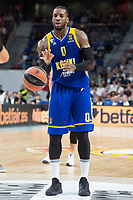 Khimki Moscow Thomas Robinson during Turkish Airlines Euroleague match between Real Madrid and Khimki Moscow at Wizink Center in Madrid, Spain. November 02, 2017. (ALTERPHOTOS/Borja B.Hojas)