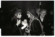 Mary Killen, Candida Lycett-Green, Wedding, 11 December 1987.