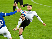 Football - 2020 / 2021 Sky Bet Championship - Swansea City vs Cardiff City - Liberty Stadium<br /> <br /> Matt Grimes Swansea City on the attack in the South Wales local derby match<br /> <br /> COLORSPORT/WINSTON BYNORTH