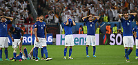 delusione Italia Italy dejection<br /> Paris 02-07-2016 Parc des Princes Football Euro2016 Germany - Italy/ Germania - Italia<br /> Round of 4, Foto Matteo Gribaudi/Image Sport/ Insidefoto
