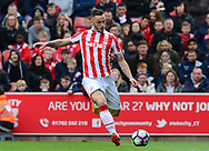 Marko Arnautovic of Stoke city.  Premier league match, Stoke City v West Ham Utd at the Bet365 Stadium in Stoke on Trent, Staffs on Saturday 29th April 2017.<br /> pic by Bradley Collyer, Andrew Orchard sports photography.