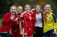 St Paul's School girls varsity Soccer versus Thayer. © 2013 Karen Bobotas / for St Paul's School