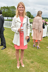 ELIZA SANGSTER at the Cartier Queen's Cup Final polo held at Guards Polo Club, Smith's Lawn, Windsor Great Park, Egham, Surrey on 15th June 2014.