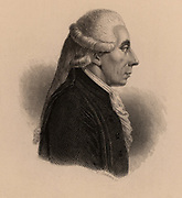 Jean Sylvain Bailly (1736-1793) French astronomer and politician. President of National Assembly Mayor of Paris 1789-90. Guillotined in French Revolution. Engraving 1895.