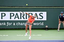 March 10, 2019 - Palm Desert, California, Usa - Tennis : BNP Paribas Open 2019 - Elise Mertens - Belgique (Credit Image: © Panoramic via ZUMA Press)