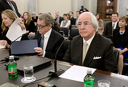 Most famous impostor Frank Abagnale, testifies to Senate Commerce subcommittee on fighting scams and Consumer Protection, on Tuesday, March 21, 2017 in Washington DC . Abagnale's life story inspired the Academy Award-nominated feature film Catch Me If You Can (2002) by Steven Spielberg, starring Leonardo DiCaprio as Abagnale. Photo by Olivier Douliery/ Abaca
