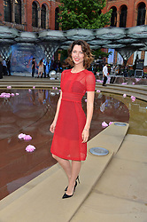 MARGO STILLEY at the V&A Summer Party in association with Harrod's held at The V&A Museum, London on 22nd June 2016.