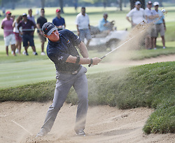 Highland Park 7/15/18  Scott McCarron of the United States hits out of a fairway bunker on the 7th fairway during the Final round of the Constellation Seniors Players Championships at Exmoor Country Club on the PGA Champions Tour in Highland Park, Illinois, United States of America    Hummingbird Pediatric Therapies ..Christina Morrissey, Nicole Dawson, Sarah Ahlm...Joel Lerner/JWC Media..Indianapolis, 7/15/18  during the NBA 1st round playoff series basketball game between the Cleveland Cavaliers and the Indiana Pacers at Bankers Life Fieldhouse in Indianapolis  United States of America  (Credit Image: © Joel Lerner/Xinhua via ZUMA Wire)