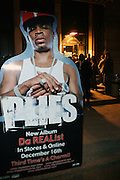 Atmosphere at The Vibe Magazine VIP Celebration for Vibe's December cover featuring the first New York show of Plies, held at The Knitting Factory on November 24, 2008 in NYC