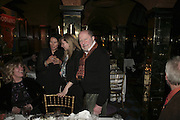 Nick Roeg, Charles Finch and Chanel 7th Anniversary Pre-Bafta party to celebratew A Great Year of Film and Fashiont at Annabel's. Berkeley Sq. London W1. 10 February 2007. -DO NOT ARCHIVE-© Copyright Photograph by Dafydd Jones. 248 Clapham Rd. London SW9 0PZ. Tel 0207 820 0771. www.dafjones.com.