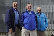 SHOT 10/29/18 9:49:55 AM - Sunrise Cooperative is a leading agricultural and energy cooperative based in Fremont, Ohio with members spanning from the Ohio River to Lake Erie. Sunrise is 100-percent farmer-owned and was formed through the merger of Trupointe Cooperative and Sunrise Cooperative on September 1, 2016. Photographed at the Clyde, Ohio grain elevator was George D. Secor President / CEO and John Lowry<br /> Chairman of the Board of Directors with  CoBank RM Gary Weidenborner. (Photo by Marc Piscotty © 2018)