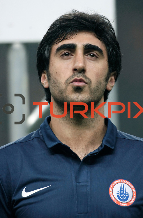 IBBSpor's Mahmut Tekdemir during their Turkish Super League soccer match Galatasaray between IBBSpor at the TT Arena at Seyrantepe in Istanbul Turkey on Tuesday, 03 January 2012. Photo by TURKPIX