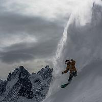 Travis Parker, a good day, Chamonix, France.
