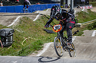 #107 (OSORNO CALDERON Maria Paulina) COL during round 4 of the 2017 UCI BMX  Supercross World Cup in Zolder, Belgium.
