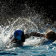 9/21/11 8:06:37 PM --- WATER POLO SPORTS SHOOTER ACADEMY 008 --- Orange Coast College men's water polo team vs Golden West. Photo by Joe Lorenzini, Sports Shooter Academy