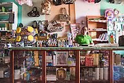 Grocery store in Annai. (North Rupununi, Guyana).