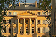 The Chateau Margaux in Margaux, Bordeaux, built in 1802 (19th century) by the architect Combes