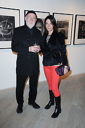 ALBERT WATSON and MARY McCARTNEY at a private view of Masters of Photography - A Journey presented by Macallan and Albert Watson held at Philips De Pury, Howick Place, London SW1 on 1st December 2010.