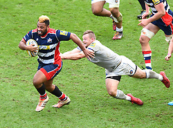 Jamal Ford-Robinson of Bristol Rugby in action against Bath Rugby - Mandatory by-line: Paul Knight/JMP - 26/02/2017 - RUGBY - Ashton Gate - Bristol, England - Bristol Rugby v Bath Rugby - Aviva Premiership