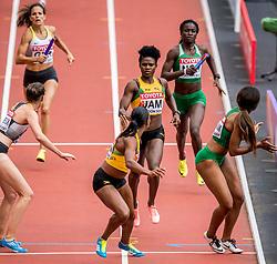 12-08-2017 IAAF World Championships Athletics day 9, London<br /> Anneisha MCLAUGHLIN-WHILBY JAM