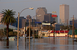 05 Sept  2005. New Orleans, Louisiana. Post hurricane Katrina.<br /> Carrolton Ave, one of New Orleans main thoroughfares lies in devastation following the wrath of Katrina.<br /> Photo; ©Charlie Varley/varleypix.com