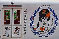 Japon, île de Honshu, région de Kansaï, prefecture de Wakayama, station de train de Kishi avec Tama le chat chef de gare// Japan, Honshu island, Kansai region, Wakayama prefecture, Kishi train station with Tama the station master