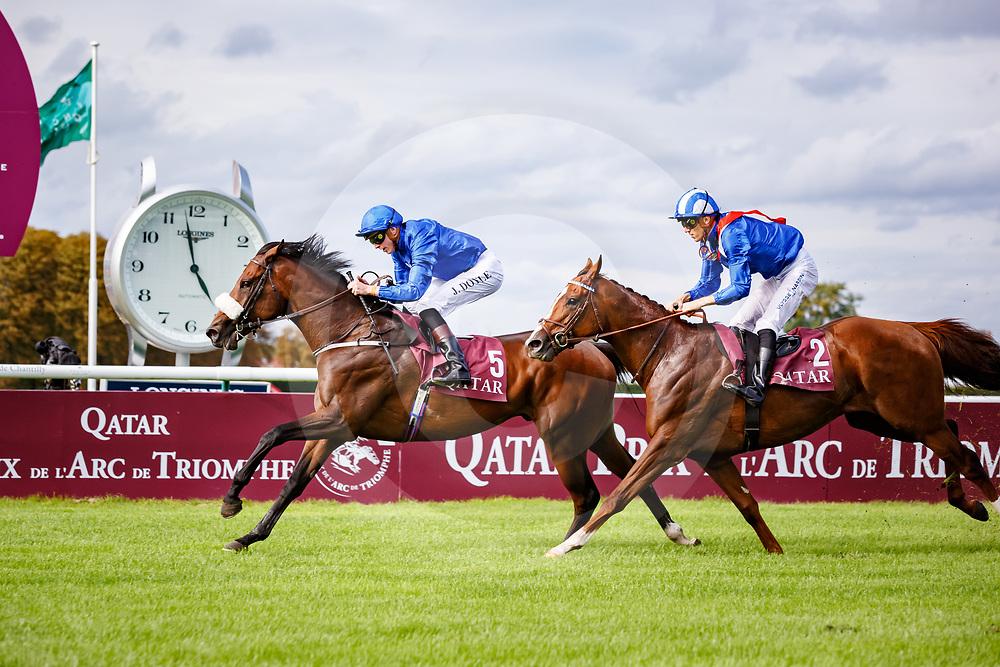 Ribchester (JW. Doyle) wins Qatar Prix Du Moulin De Longchamp in Chantilly, France 10/09/02017, photo: Zuzanna Lupa