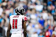 December 24, 2016: Carolina Panthers vs Atlanta Falcons. Julio Jones, WR