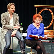 NLD//Amsterdam20160415 - Persdag toneelstuk In de Ban van Broadway, Martijn Nieuwerf en Loes Luca