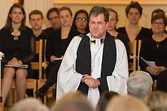 2014 Oct 21 Evensong Installation Dean McGowan & Honorary Degrees Berkeley Divinity School