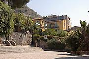 Hotel Villa Gaia, in the touristic centre of Taormina, sicily, Italy, July 2006