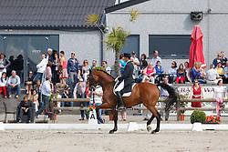 Verwimp Wim (BEL) - Pari Lani<br /> BK seniors<br /> Flanders Dressage Event Hulsterlo 2012<br /> © Dirk Caremans