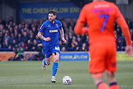 AFC Wimbledon midfielder Anthony Wordsworth (40) dribbling during the The FA Cup 5th round match between AFC Wimbledon and Millwall at the Cherry Red Records Stadium, Kingston, England on 16 February 2019.