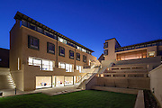 The Garden Building & The Rokos Quad. Pembroke College, New Build on completion March 2013. Oxford, UK