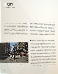 """This photo is included in the book nr 19 with title """"The Family"""" of the Collection """"Lezioni di Fotografia"""".  The collection, made of 30 books, each with a different theme, was published by Corriere della sera and Gazzetta dello Sport in 2018 and  includes the section """"Themes and photographic languages"""" entirely curated by CFP Bauer and Roberta Valtorta."""